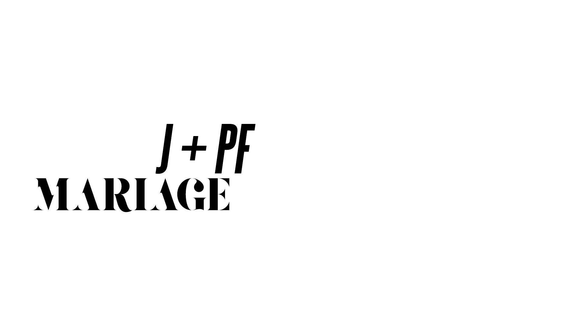J + PF - MARIAGE
