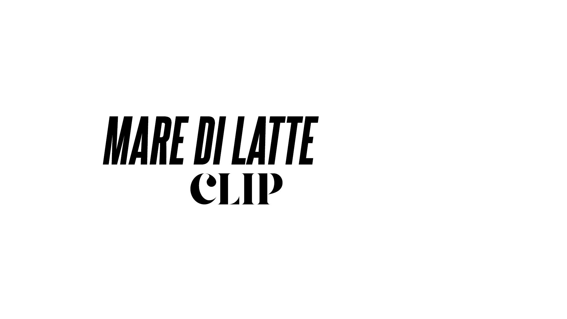 MARE DI LATTE - #1