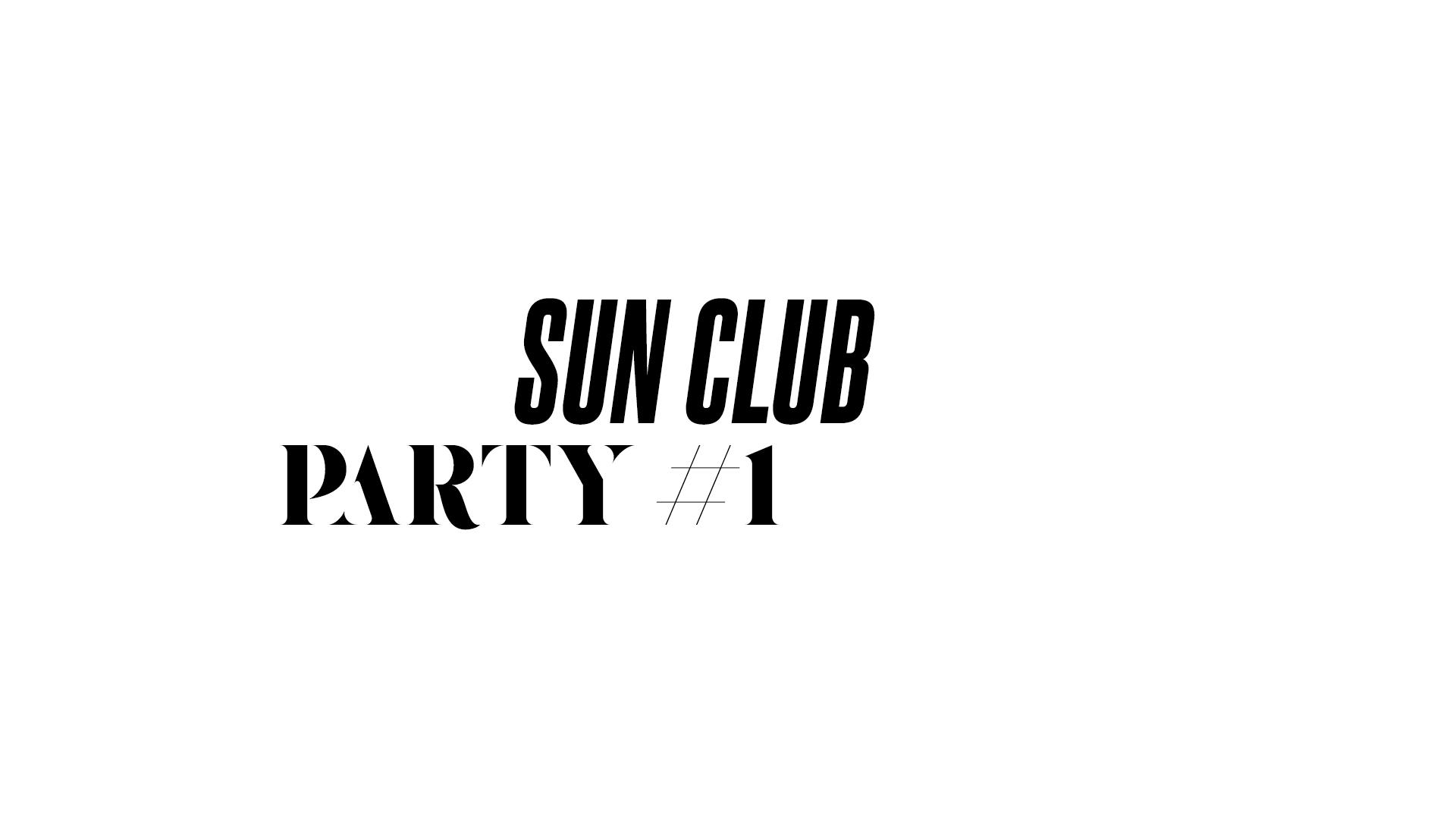 SUN CLUB - #1